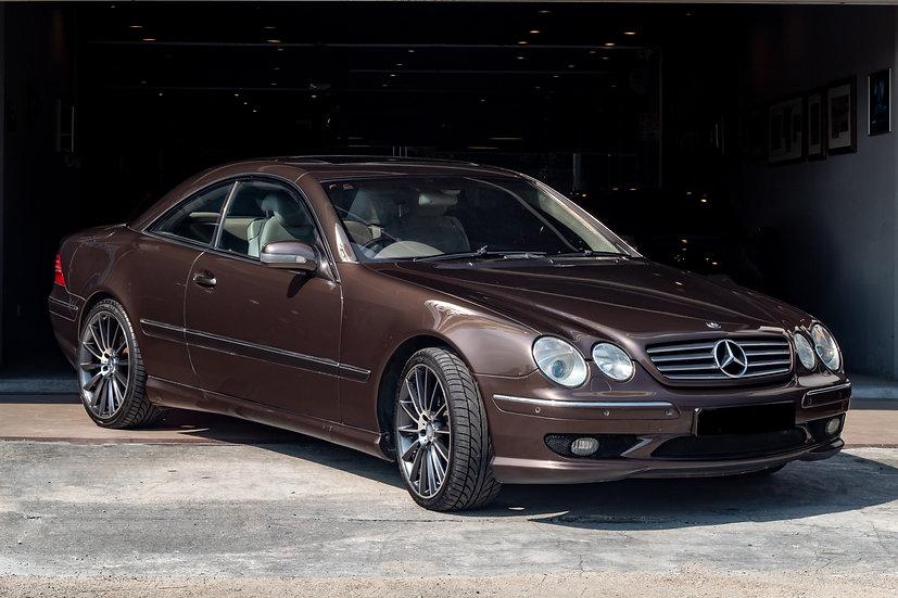 Mercedes-Benz CL55 AMG 2001