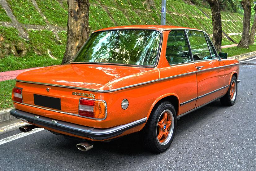 BMW 2002 tii 1975