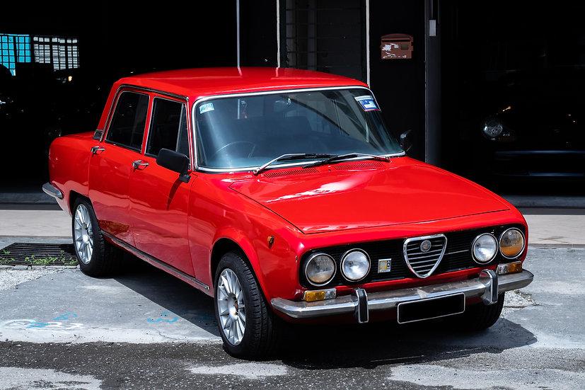 Alfa Romeo Berlina 2000 1976