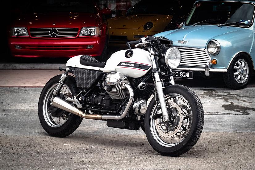 Moto Guzzi California 90 Anniversary Custom Café Racer 2012
