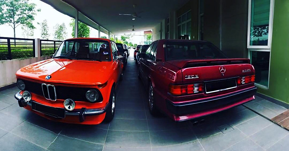 BMW 2002ti / Mercedes-Benz 190E 2.5-16V Cosworth