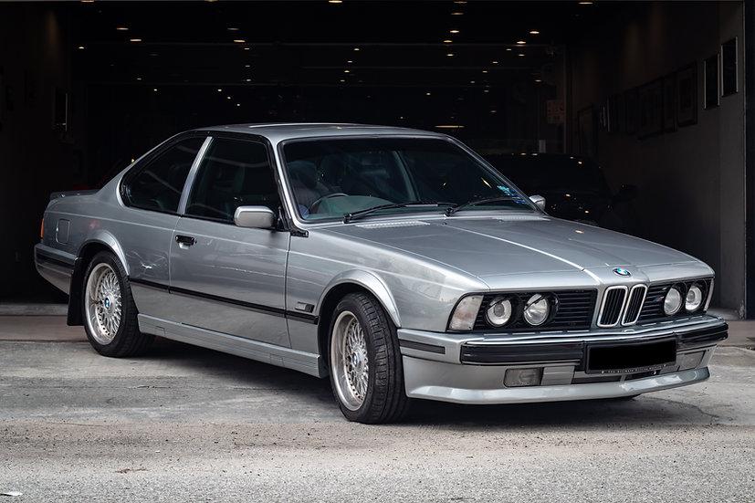 BMW 635CSi E24 Highline & Shadowline 1988
