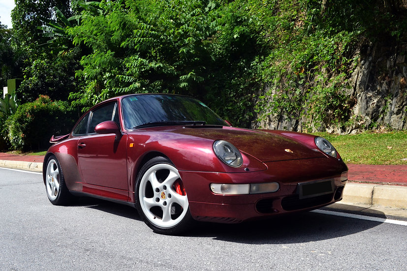 Porsche 911 (993) Turbo 1996
