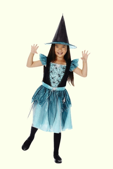 Halloween Spider Witch Costume