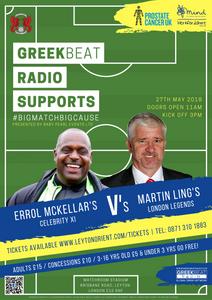 Errol McKellar & Martin Ling's Celebrity Football Match 2018