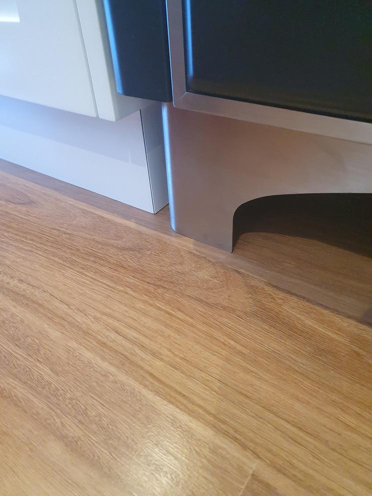 Iron Bark Flooring overn scratch marks - After