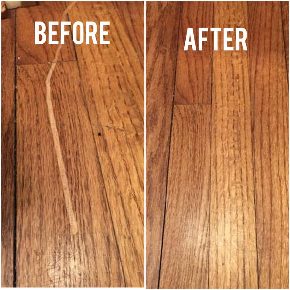 Timber Floor Scratch Repairs