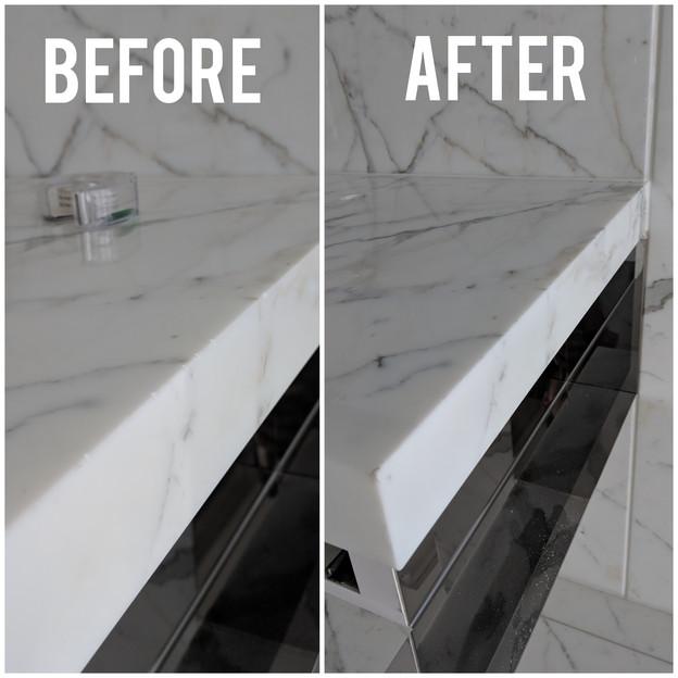 White Marble Sink