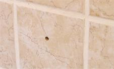 Damaged a tile or drilled the wrong hole?