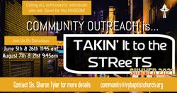 street ministry summer 2021