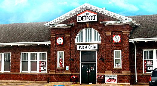 Beautiful Historic Train Depot, Mitchell, SD