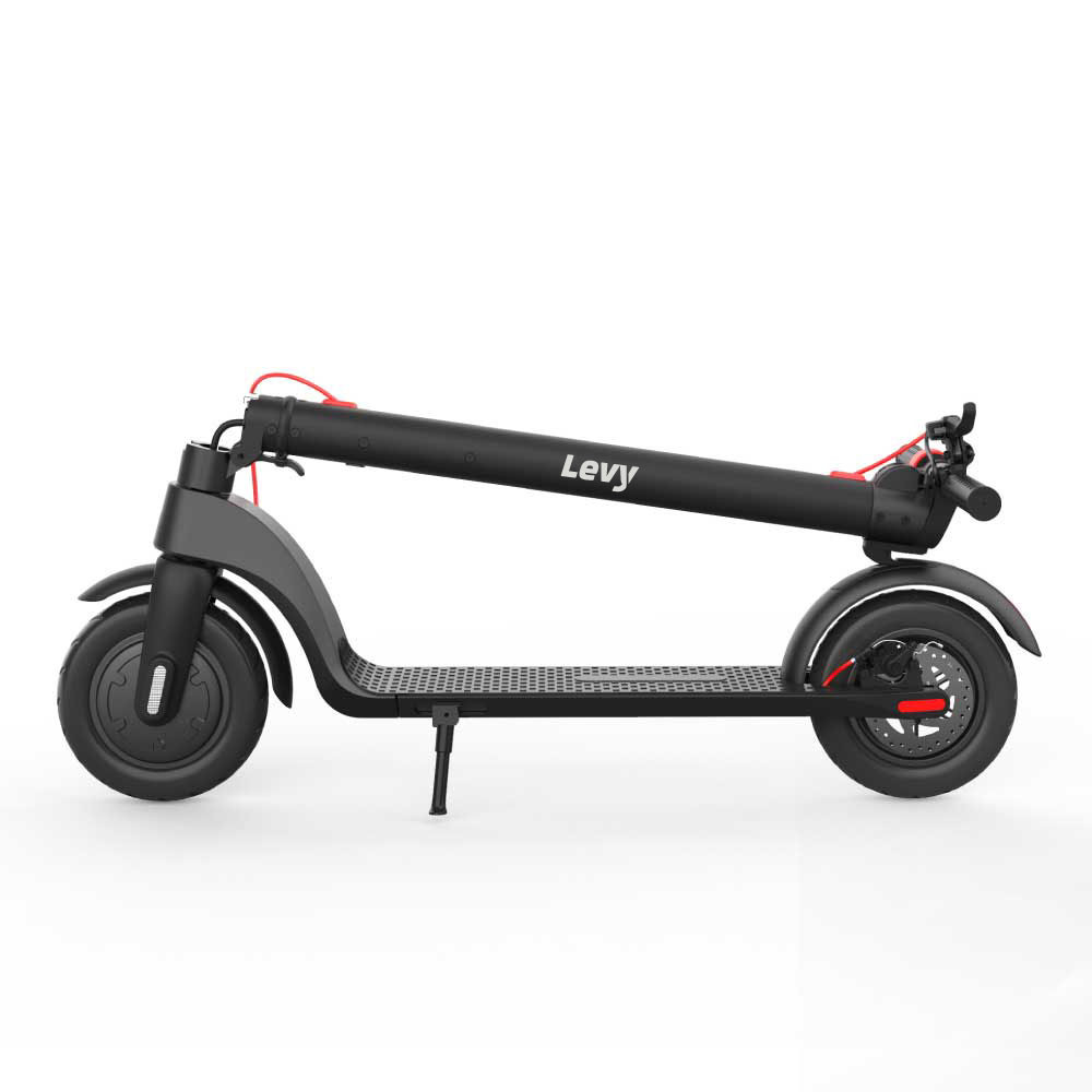 Levy Electric Scooter Folded