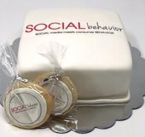 Cutom Corporate Cake