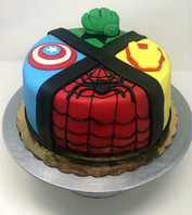 Custom Marvel Cake