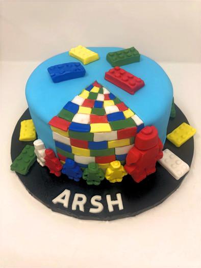 Leggo Birthday Cake