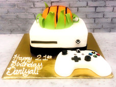 Custom Xbox One Birthday Cake