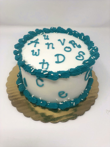 Speech Therapy Cake