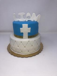 Baptism Custom Cake