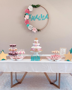 Baby Shower Dessert Buffet