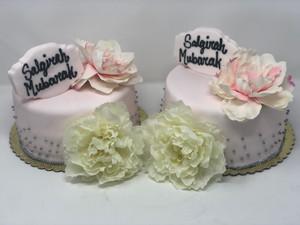 Saligrah Mubarak Custom Cake