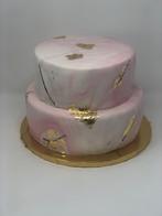 Pink Marbled Cake