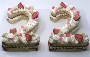 Custom Kit-Kat/Reeses's Cake