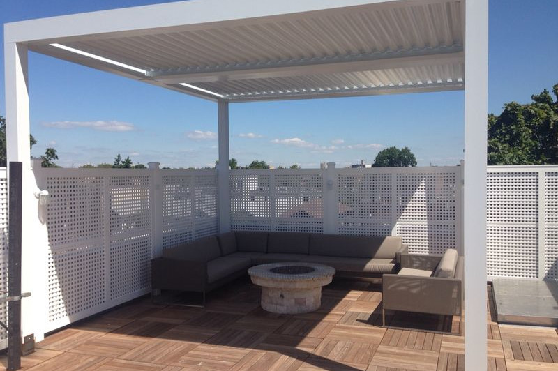 Rooftop Outdoor Seating