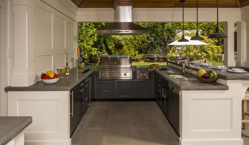 Outdoor Kitchen Fully Installed