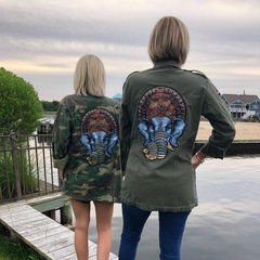 Custom Army Jackets with Patches
