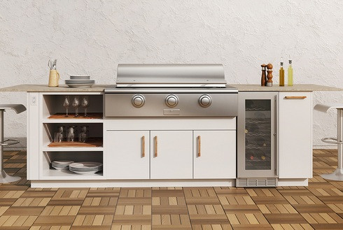 Stainless Steel Cabinets Modern