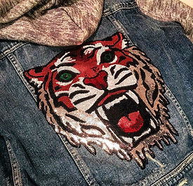 Vintage Vibe Tribe Lion Patch