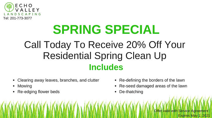 Echo Valley 20% Off Spring Cleanups