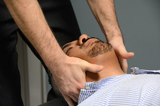 Patti Chiropractic neck adjustment