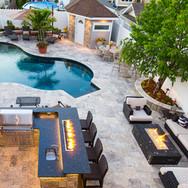Outdoor Living Backyard Pool