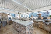 Large Outdoor Kitchen & Pergola
