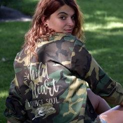 Wild Heart Army Jacket