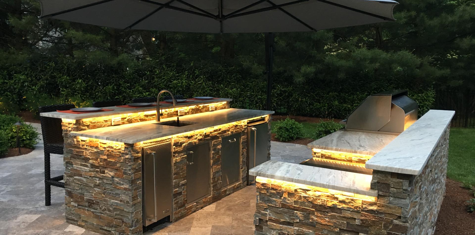 Outdoor Chef Kitchen