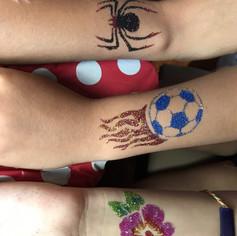 Melody Mom Glitter Tattoos