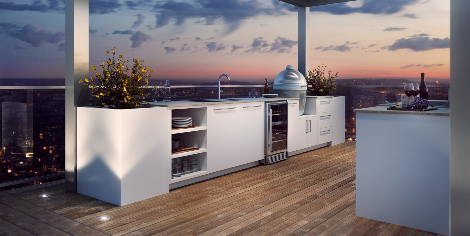 Outdoor Kitchen Modern