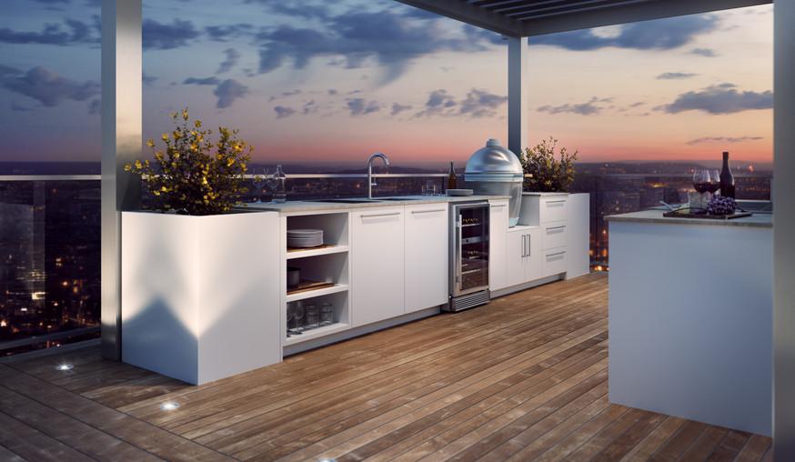 Outdoor Kitchen Modern