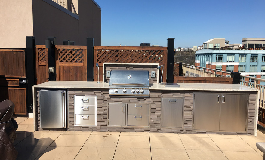 Hoboken Outdoor Kitchen