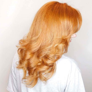JC Christophers Red Hair Styling Blowout