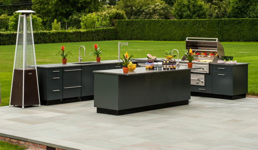 Outdoor Kitchen Modern Design