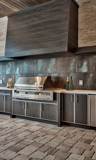 Transitional Outdoor Kitchens Outdoor Living Of Nj