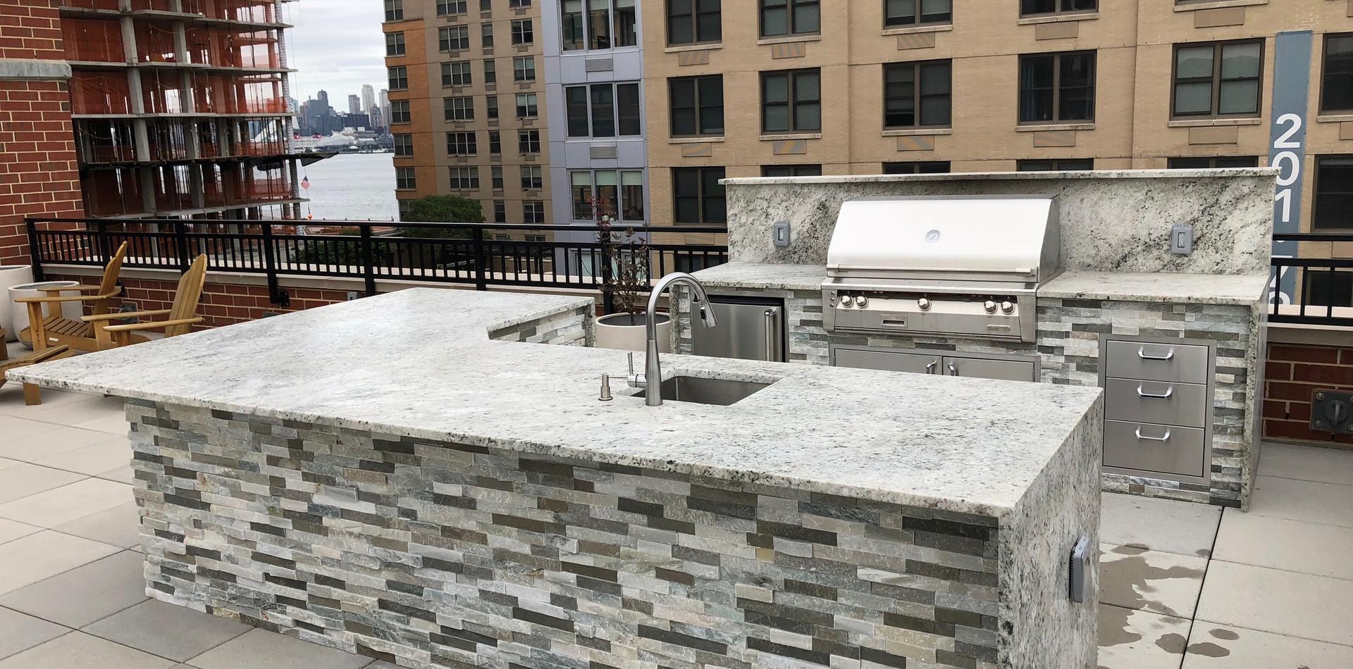 Outdoor Living Kitchen Rooftop