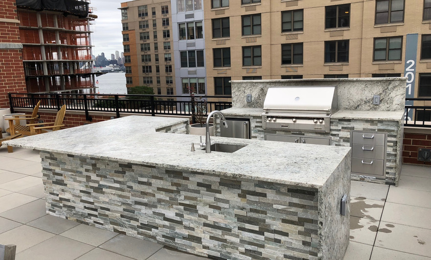 Outdoor Living Kitchen Rooftop