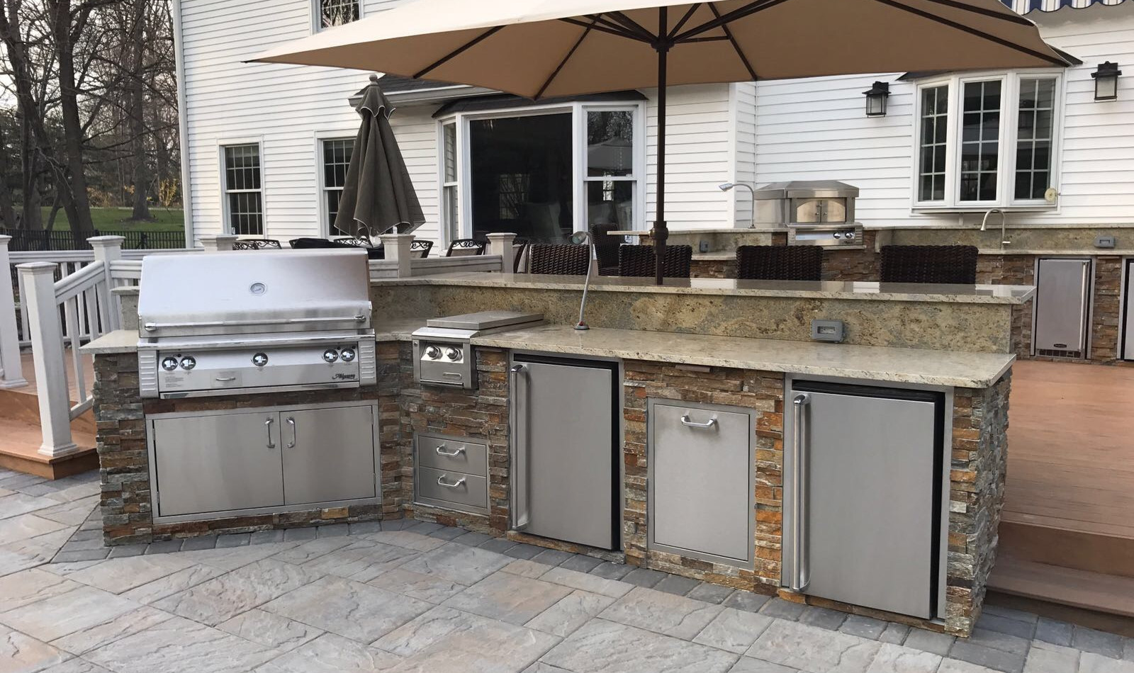 Outdoor Living of NJ small classic kitchen