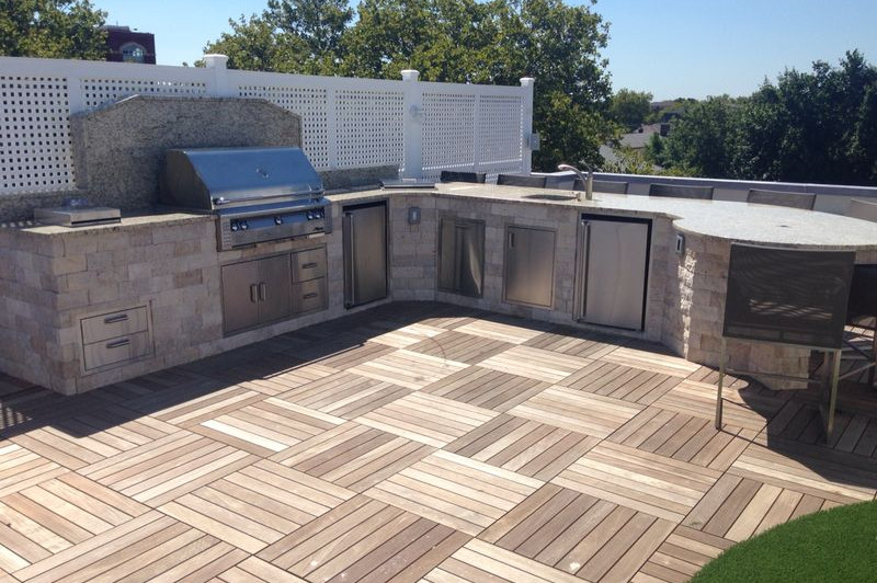 Rooftop Outdoor Kitchen