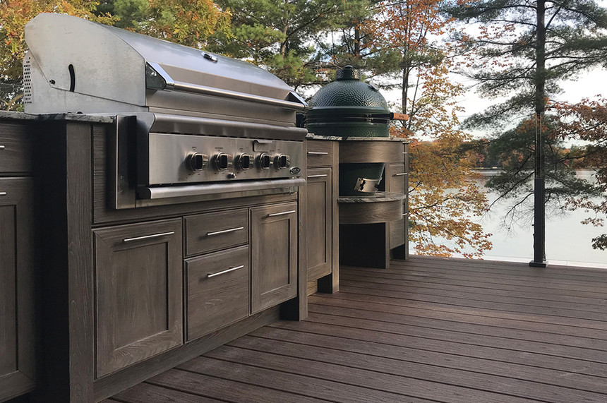 Outdoor Kitchen -cottage-cook-out