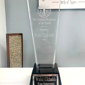 Cloud_La_Med_Spa doctor award